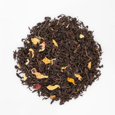 herbata owocowa brzoskwiniowa fotografia