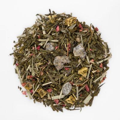 herbata biała Premium z granatem fotografia