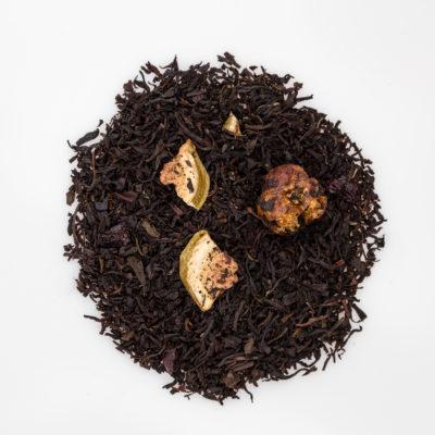 Herbata czarna z figami susz fotografia
