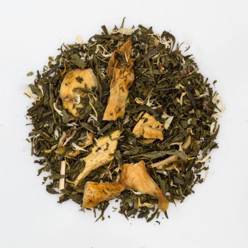 herbata sencha mango fotografia