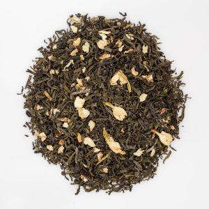 zielona herbata z dodatkiem jaśminu