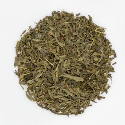 Herbata zielona Sencha susz fotografia