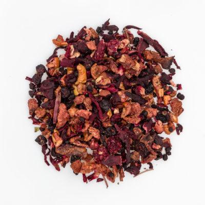 Herbata owocowa Truskawkowy Ogród susz fotografia