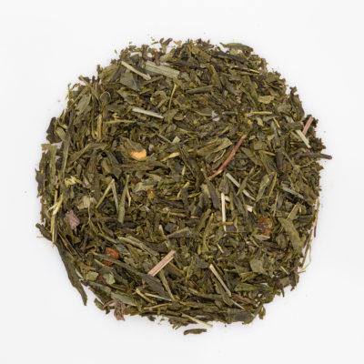 Herbata zielona Sencha Cytrynowa susz fotografia