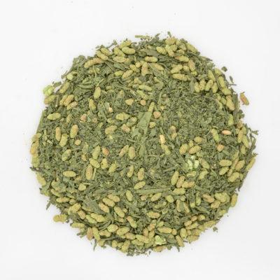 Herbata Matcha Genmaicha susz fotografia
