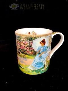 kubek porcelanowy Carmani z obrazem Averina