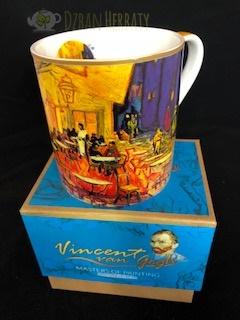 kubek porcelanowy z obrazem van Gogha