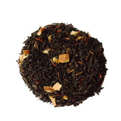 czarna herbata z dodatkami